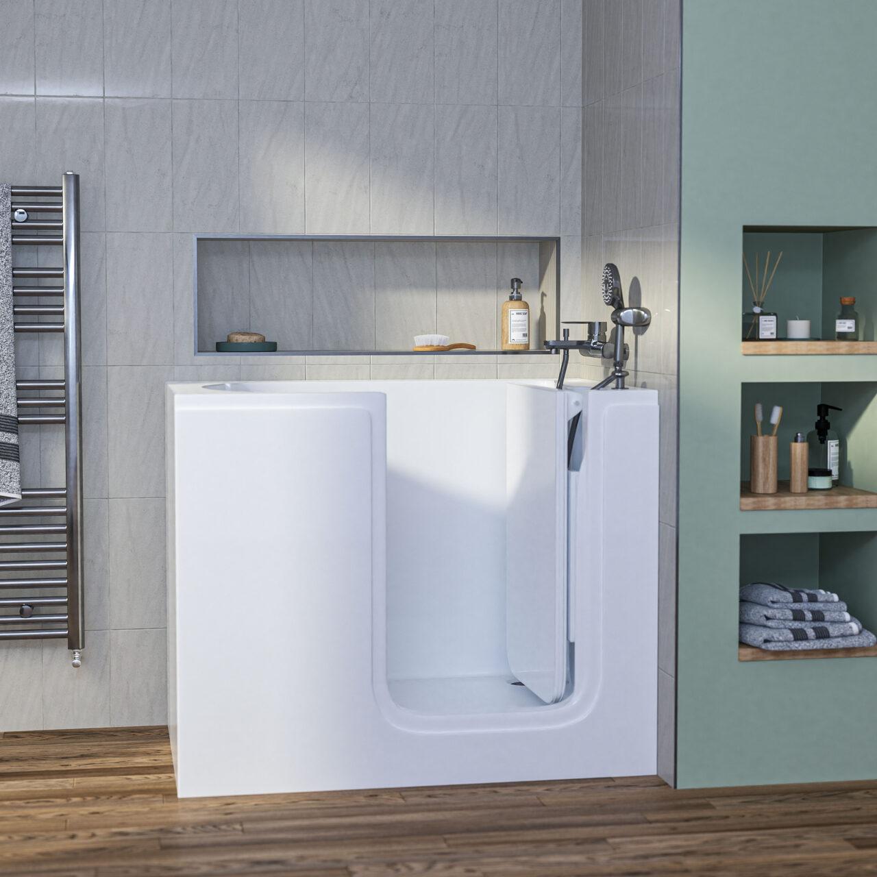 Affinity Deep Soak Bath Roomset