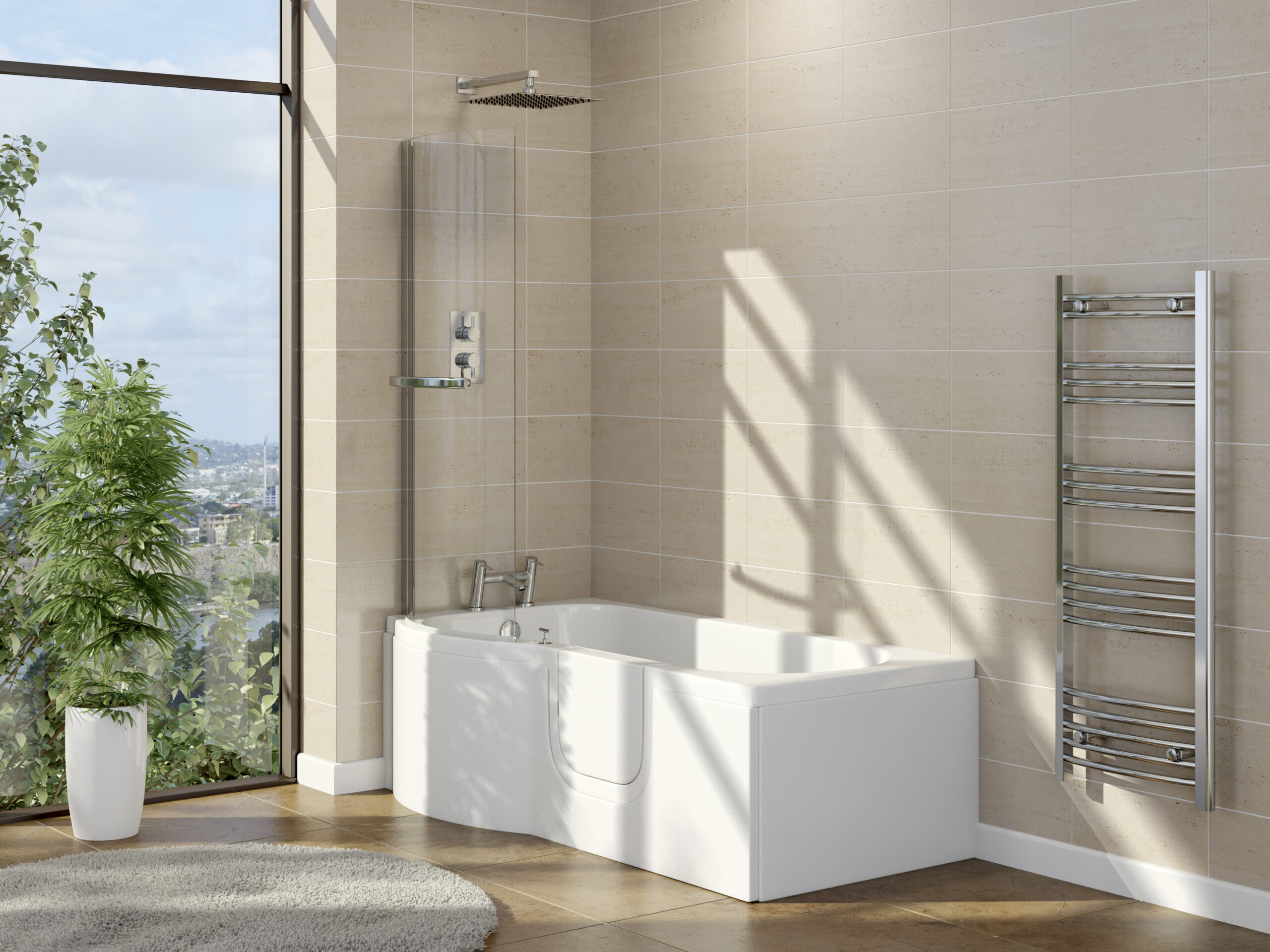Calypso Shower Bath Roomset
