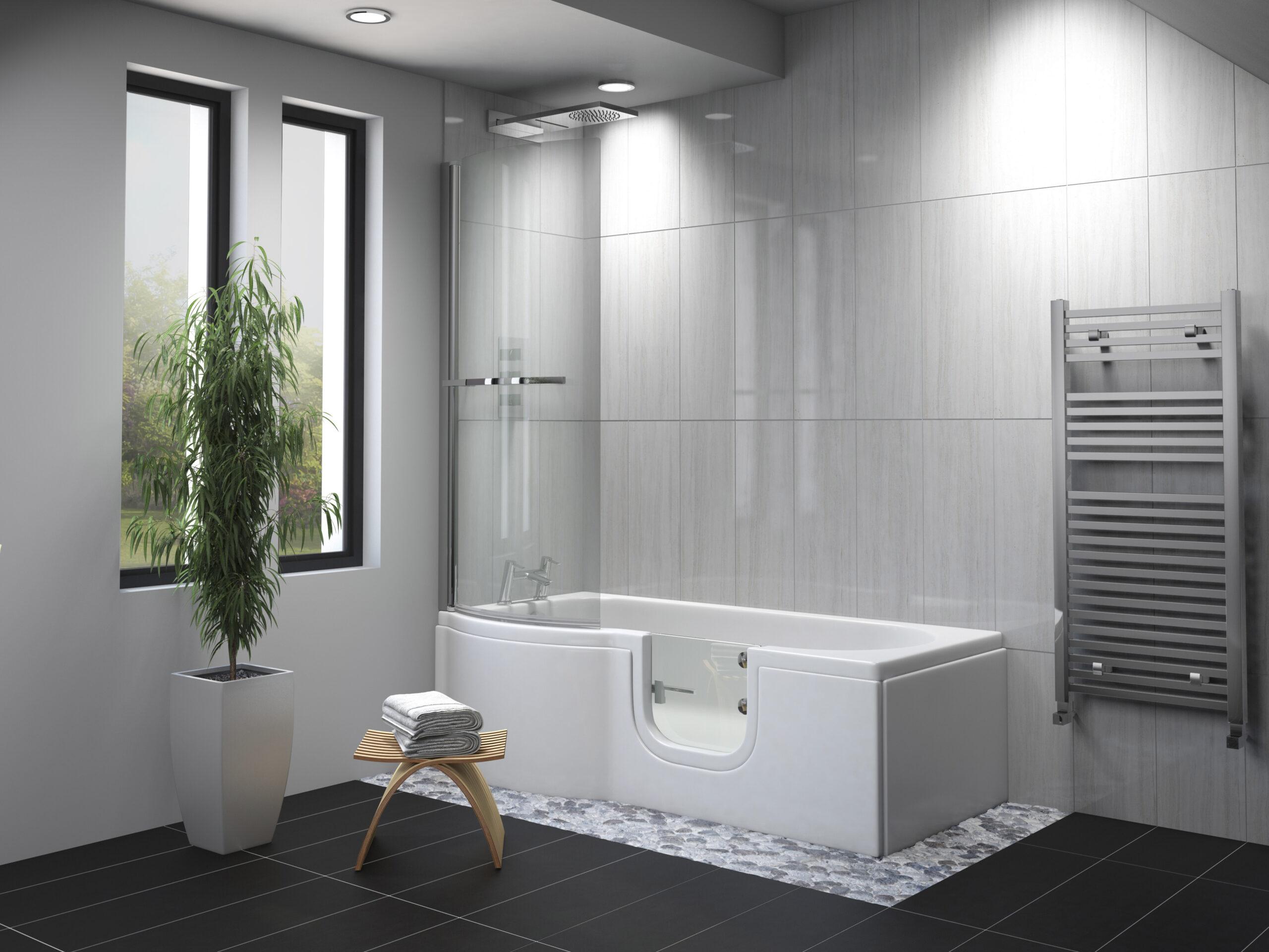 Carnelian Shower Bath Roomset